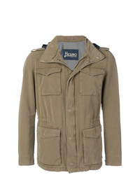 Veste style militaire olive Herno
