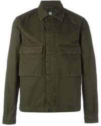 Veste style militaire olive Paul Smith
