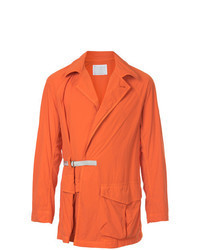 Veste style militaire orange