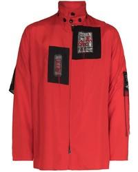 Veste style militaire rouge Yohji Yamamoto