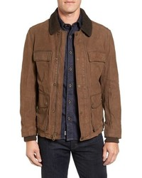 Veste style militaire tabac