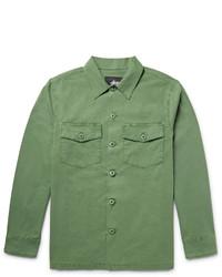 Veste style militaire vert menthe