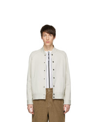 Veste universitaire beige
