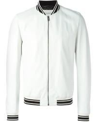 Veste universitaire blanche Dolce & Gabbana