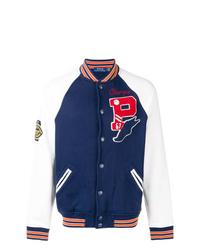 Veste universitaire bleu marine et blanc Polo Ralph Lauren