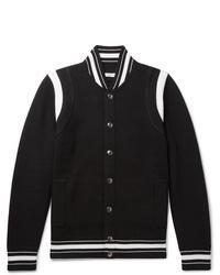 Veste universitaire noire et blanche Givenchy
