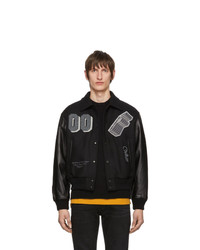 Veste universitaire noire Off-White