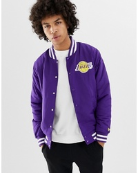 Veste universitaire violette New Era