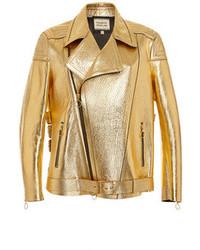 Vêtements de dessus dorés